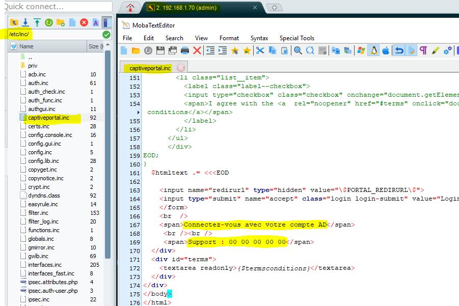 Portail Captif pfSense avec authentification RADIUS | pixelabs